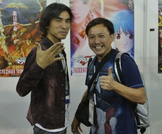 Managed to catch Kawamori-san in his free time!